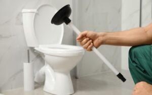 как да отпушим тоалетната чиния
