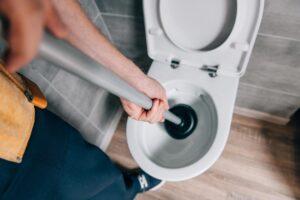 запушената тоалетна