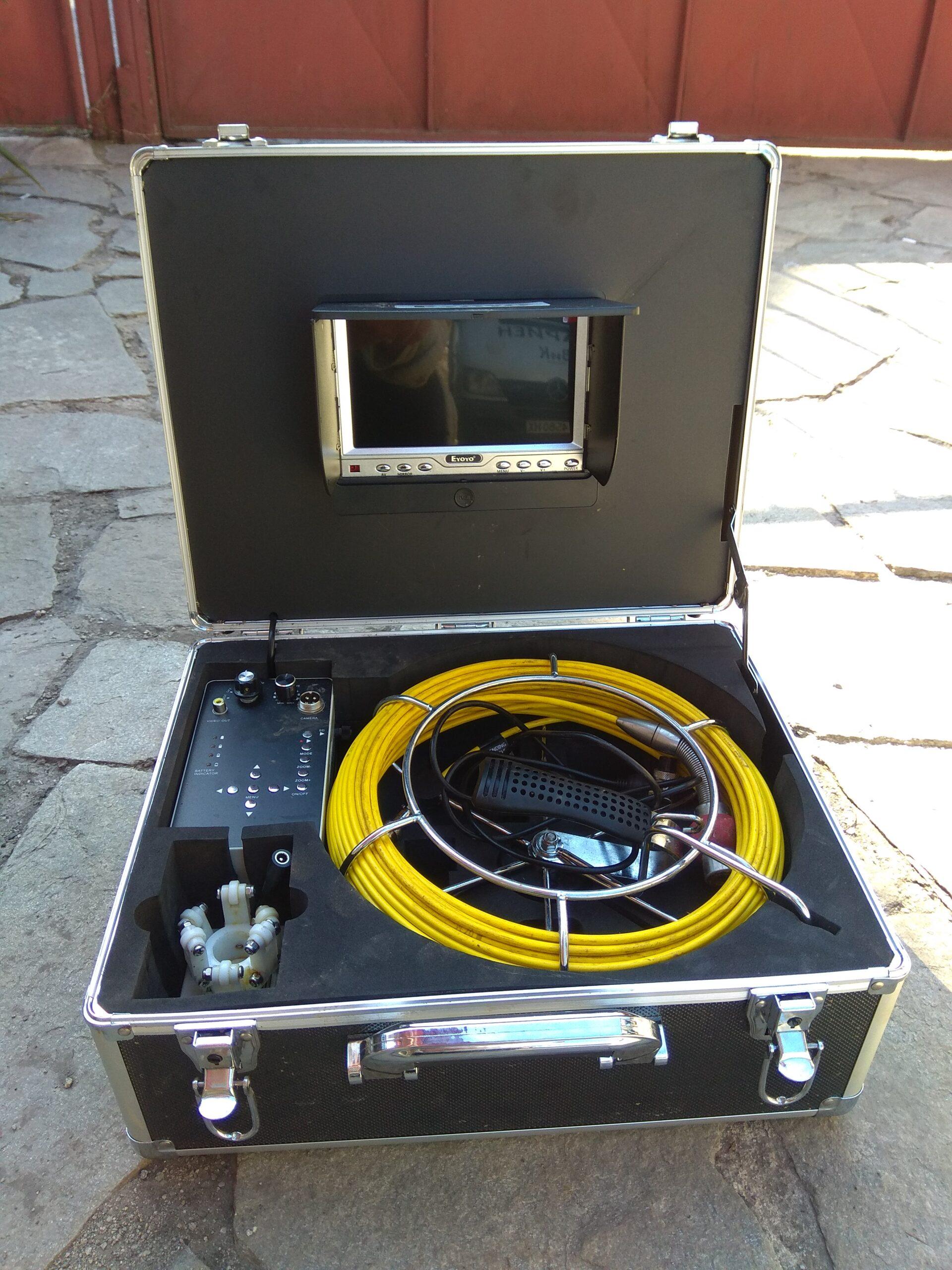 видеодиагностика с камера на канал